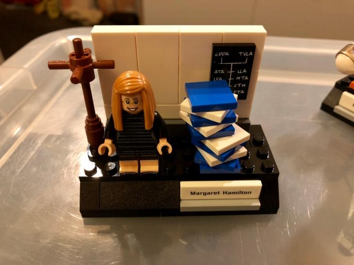 Margaret Hamilton in LEGO
